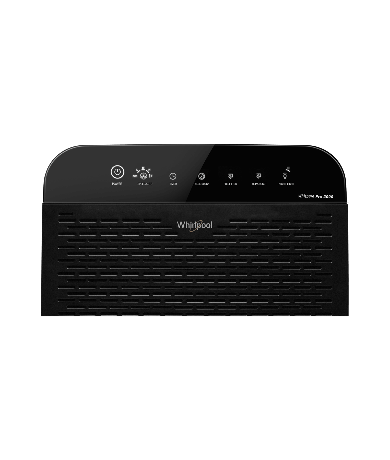 Whirlpool Wppro2000 Whispure Air Purifier Slate Black